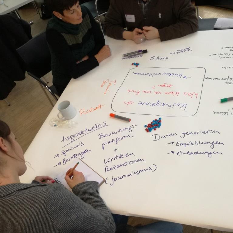 kultursphäre.sh Konzeptionsworkshop am 20. Februar 2017 in Kiel