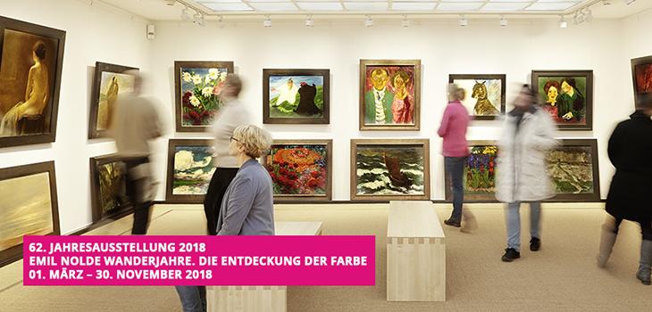 """Jahresausstellung """"Wanderjahre"""" im Nolde Museum"""