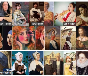 Google Bildersuche nach Recreating Art